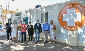 Denia refuerza la atención sanitaria en verano con el consultorio de Arenal
