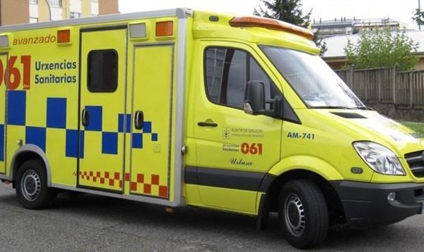 Denunciado un conductor de ambulancia por dar positivo en un test de drogas