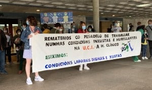 Desconvocada la huelga del CHUS tras acuerdo entre dirección y trabajadores