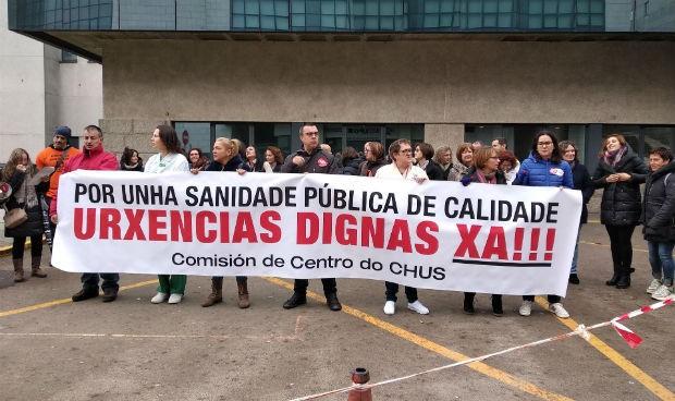 Desconvocada la huelga del CHUS tras la propuesta de la gerencia