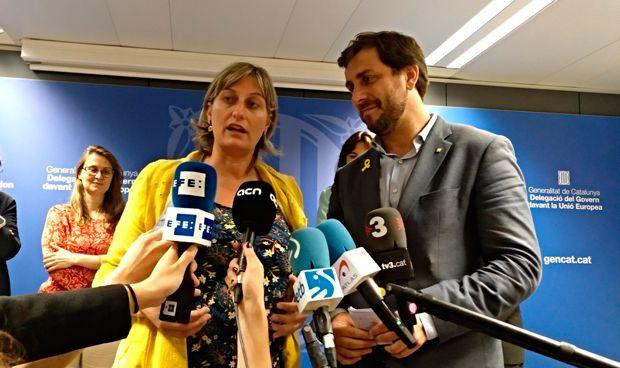 Día dos de Vergés en la Consejería: reunión 'indepe' con Comín en Bruselas