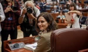 Díaz Ayuso prioriza la sanidad en su estreno en el Pleno de la Asamblea