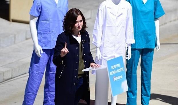 Díaz Ayuso promete construir un nuevo hospital en la Sierra Norte