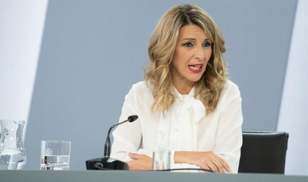 """Díaz pide """"responsabilidad"""" a empresas para frenar la 'fuga de cerebros'"""
