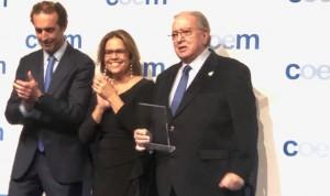 Diego Murillo, premiado por su apoyo a la igualdad de género en sanidad