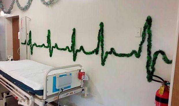 Diez ideas divertidas (y baratas) para decorar el hospital esta Navidad