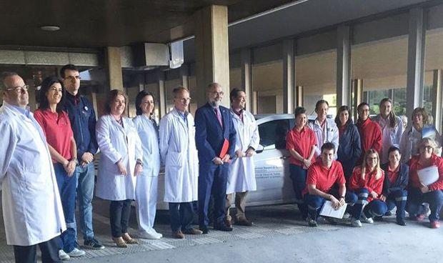 Diez nuevas camas para el servicio de hospitalización a domicilio de Tudela