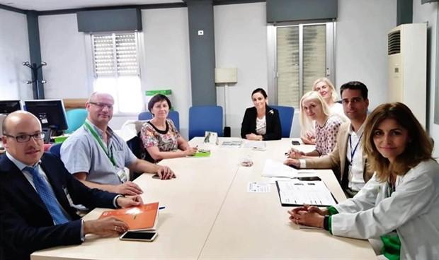 Directivos hospitalarios estonios conocen la gestión ambiental del Macarena