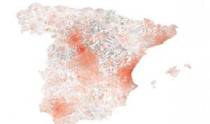 Diseñan un mapa de riesgo de contagio por coronavirus en España