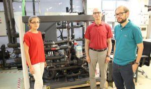Diseñan una bomba que produce agua caliente sanitaria más económica