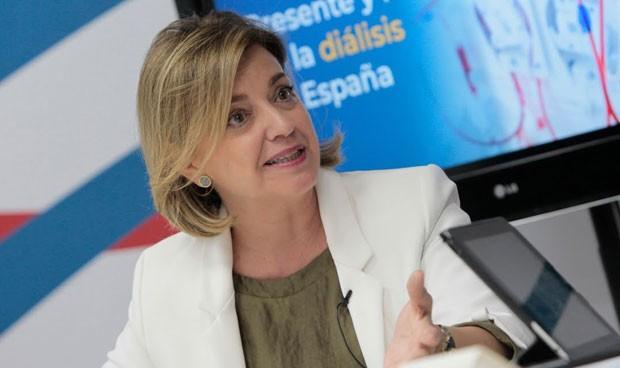 """Dolores del Pino, presidenta de Nefrología: """"Nunca he recibido sobornos"""""""