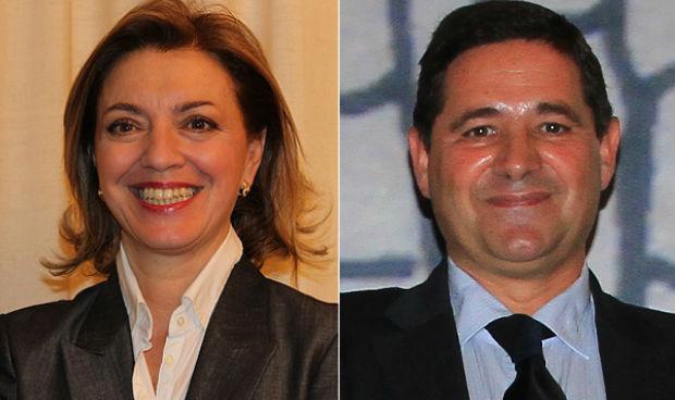 Dolores del Pino y Joaquín Estévez