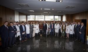Dolors Montserrat visita por primera vez el Hospital San Pedro de Logroño