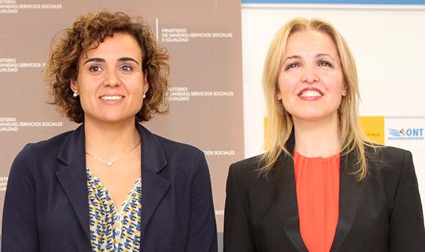 Dolors Montserrat y  Beatriz Domínguez-Gil