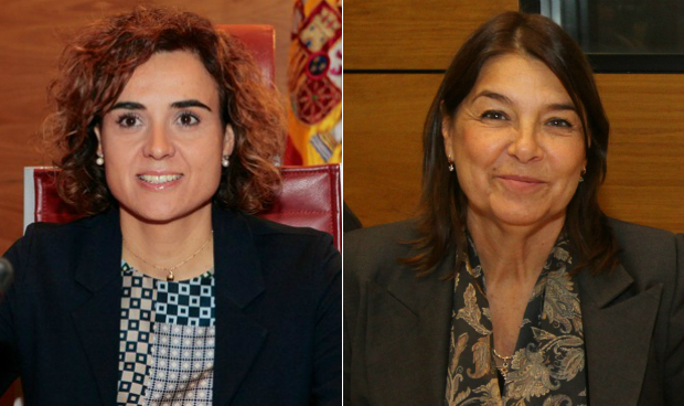 Dolors Montserrat y Belén Crespo