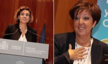 Dolors Montserrat y Elena Andradas