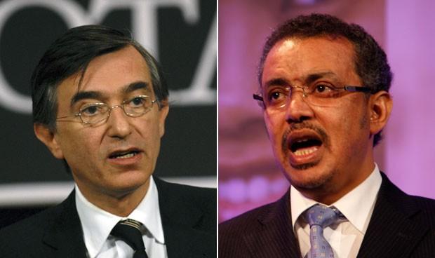 Dos candidatos a la sucesión en la presidencia de la OMS