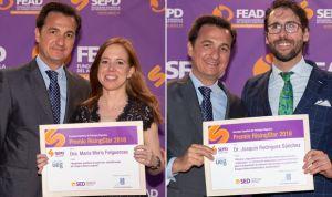 Dos jóvenes especialistas en Digestivo reciben el premio Rising Star