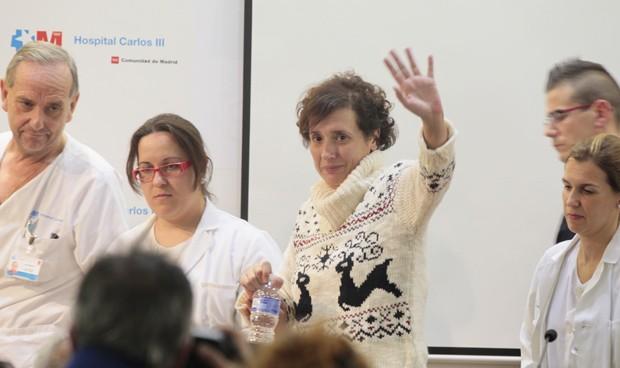 Ébola: salubristas piden compensar a Teresa Romero y su entorno profesional