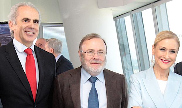Enrique Ruiz Escudero, Rafael Pérez Santamarina y Cristina Cifuentes