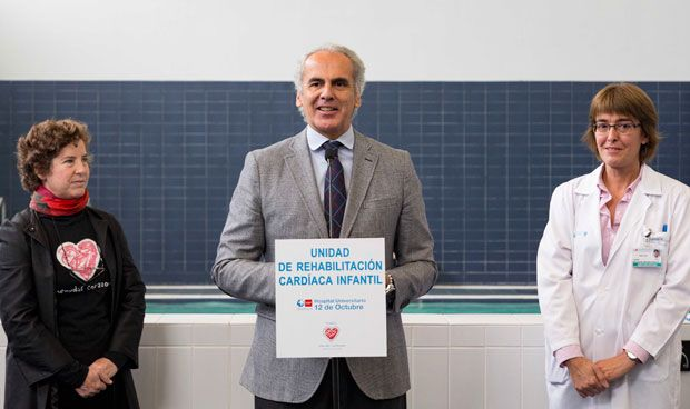 El 12 de Octubre inaugura una Unidad de Rehabilitación Cardiaca Infantil