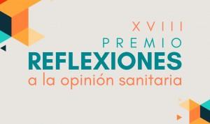 El 20 de mayo se entrega el XVIII Premio Reflexiones a la Opinión Sanitaria