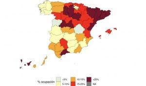El 25% de las camas UCI están ocupadas por Covid en 13 provincias de España