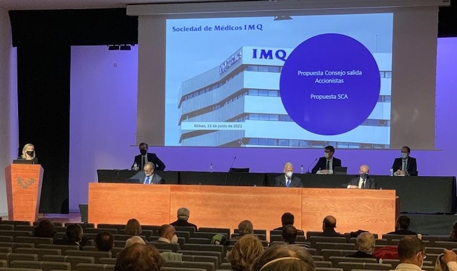 El 58% de accionistas de IMQ acepta la compra de Segurcaixa Adeslas