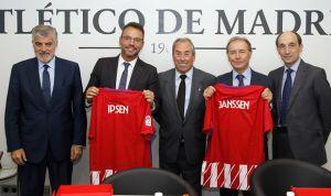 El Atlético, Janssen e Ipsen, juntos contra el cáncer de próstata