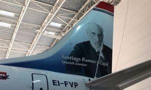 El avión más 'médico' del mundo se llama Santiago Ramón y Cajal