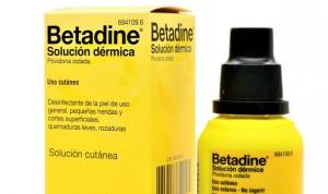 El betadine demuestra efectividad in vitro contra el Covid-19