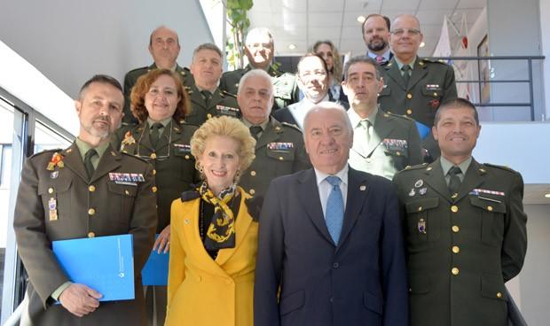 El CGE aborda las particularidades de la Enfermería militar en una comisión