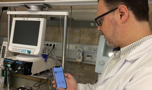 El CHUS desarrolla una 'app' que mide la dificultad respiratoria en niños
