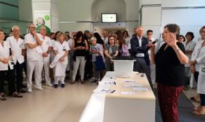 El Clínic monta un referéndum de independencia para recordar el 1-O