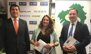El Colegio de Higienistas Dentales de Galicia firma una poliza con AMA