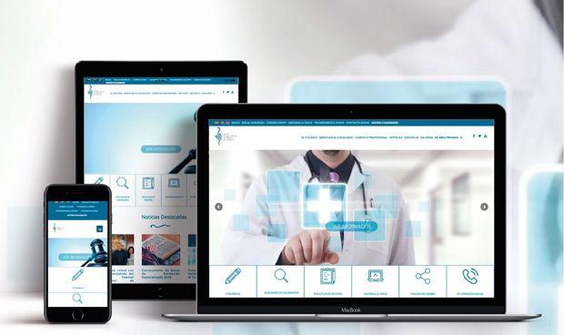 El Colegio de Médicos renueva su web con un canal 'antiagresiones'