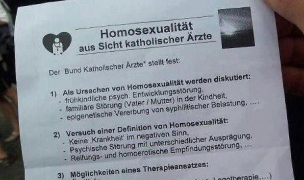 El colmo del sinsentido: terapia de homeopatía para curar la homosexualidad