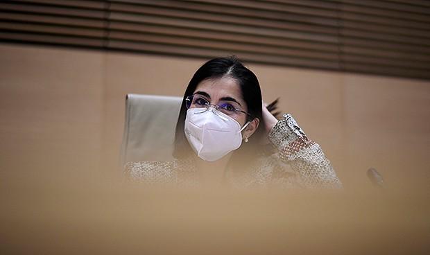 El compromiso de Darias en su debut en la Comisión de Sanidad