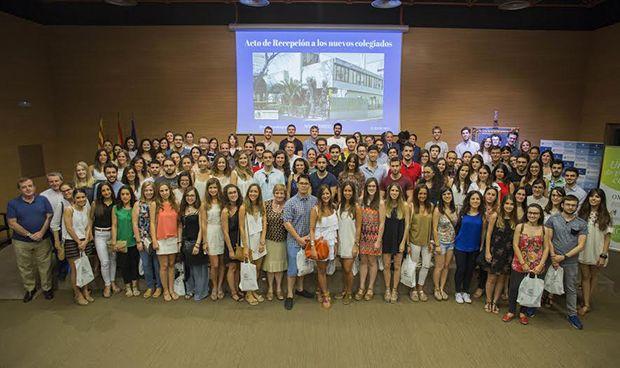 El Colegio de Zaragoza da la bienvenida a sus nuevos colegiados MIR