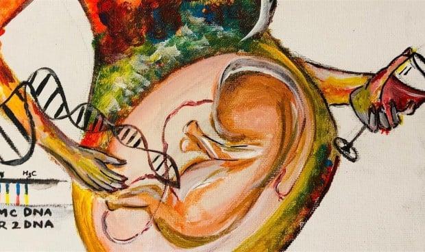El consumo moderado de alcohol en el embarazo altera los genes del feto