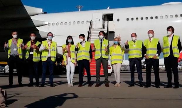El Corredor Aéreo finaliza con 789 toneladas de EPI transportadas