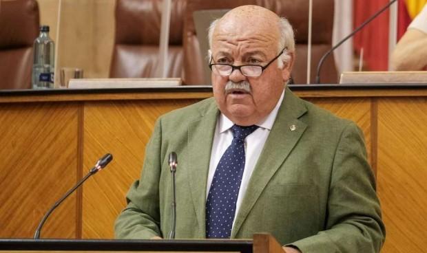 El Covid-19 'monopoliza' a Jesús Aguirre en el Parlamento andaluz