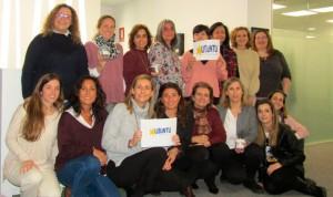 El equipo de Fenin colabora con los jóvenes con discapacidad intelectual