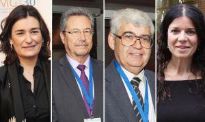 El equipo de Montón en el Ministerio de Sanidad: Campos, Herrera y Lacruz