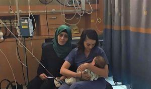 El gesto solidario de una enfermera 'supera' el conflicto palestino-israelí