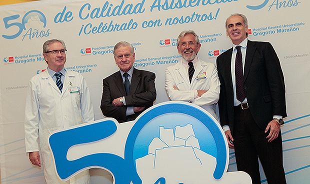 """El Gregorio Marañón cumple 50 años en pleno camino a """"hospital del futuro"""""""