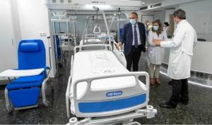 El Hospital Clínico de Santiago aumenta su superficie asistencial un 30%
