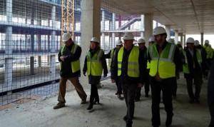 El Hospital de Alcañiz ya se encuentra en fase de cimentación y estructura