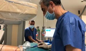 El Hospital de Burgos usa crioablación en tumores renales de difícil acceso