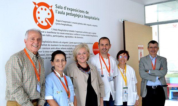 El Hospital de Denia estrena una sala para exposiciones de niños ingresados